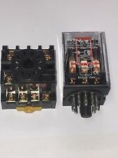 Mk3p I Mk3p Dc 12v Dc Relay 11 Pin 10a 250vac Amp Pf113a Socket Base