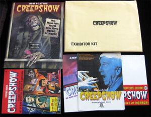 Creepshow RARE ORIGINAL Exhibitor Press Kit w/ 3D Pop-Up Promo TPB Graphic Novel