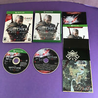 The Witcher 3: Wild Hunt (Xbox One, 2016) Complete CIB CIC OEM Map + Soundtrack!