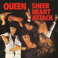 QUEEN - SHEER HEART ATTACK (LIMITED BLACK VINYL)  VINYL LP NEU