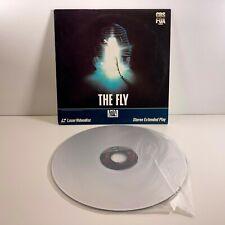 The Fly Laserdisc Horror David Cronenberg Stereo Extended Play