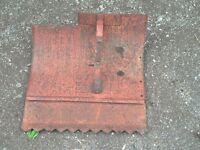 Bolens Rototiller Attachment, Roto-Tiller, Roto Tiller worm drive shield dirt