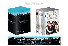 Dvd Will & Grace: Stagione 1-8 Serie Completa - (Cofanetto 34 DVD) ....NUOVO