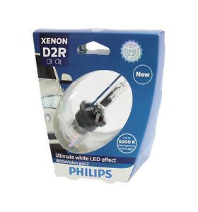Genuine PHILIPS Xenon White Vision Gen2 D2R 35W 5000K- Single HID Headlight Bulb