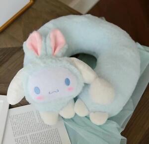 Cinnamoroll Bunny Soft Plush Neck Rest Car Airplane Office Travel U-type Pillow