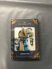 Warhammer 40000 Space Marine Collectors Edition Information Cards New Free P&P