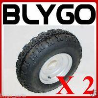"2X 21X7- 10"" inch Front Wheel Rim Tyre Tire 150cc 250cc Quad Dirt Bike ATV Buggy"