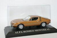 Ixo Presse 1/43 - Alfa Romeo Montreal Marron métal
