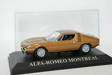 Ixo Press 1/43 - Alfa Romeo Montreal Brown metal