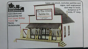 Banta Modelworks Port Lines Hobby 4128 Up the Creek Paddle Co S/Sn3 Kit RARE OOP