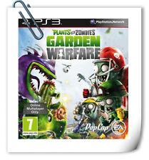 PS3 PLANTS VS ZOMBIES: GARDEN WARFARE  Sony Playstation Games Action EA