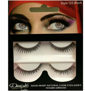 Dimples Lashes Lash Strips Hand Made Natural Look Eyelashes Various Styles
