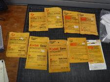9 Kodak Dry Photo Chemicals Fixer Developer Clearing Agent Desktol Microdol NEW