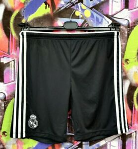 Real Madrid FC Spain Football Soccer Training Shorts Adidas 2014 Mens size S