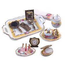 Reutter Porzellan Kosmetiktablett Makeup Table Set Puppenstube 1:12 Art. 1.465/8