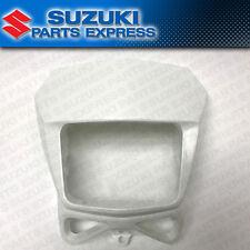 2002 - 2017 SUZUKI DR-Z DRZ 400S SM DR 200 650 OEM HEAD LIGHT COVER MASK WHITE