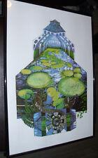 """Lucille Clerc """"Kew Garden 1"""" 2013 Erstauflage Nr. 2/15 Signiert  50x70 Siebdruck"""