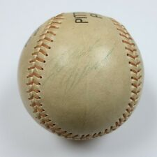 Roberto Clemente SINGLE SIGNED Autographed Pirates Official League Baseball JSA