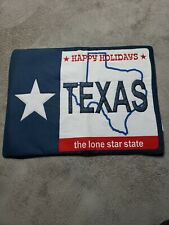 Western Texas Lone Star Happy Holidays Table Top Western Home Decor