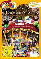 Dragon Scales 1-6 Sunrise Games PC Spiel Match 3 Neu & OVP