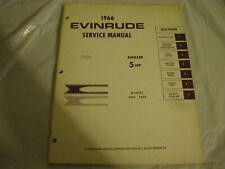 New listing 1966 evinrude angler service manual