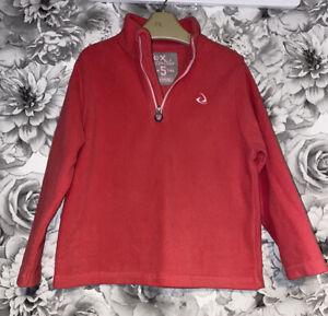 Girls Age 4-5 Years - Fleece Sweater Top