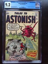 TALES TO ASTONISH #39 CGC NM- 9.2; OW-W; Kirby Ant-Man!