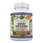 Natural Sleep Aid with Valerian Root, Ashwagandha, Lemon Balm
