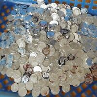 Lot of 120 - 1 gram .999 Silver Bullion Silver bar Round  mixed random  Wpz712