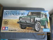 *1/10th TAMIYA   R/C LAND ROVER DEFENDER 90    4WD OFF ROAD   see des  (58657)