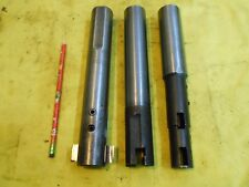 3 pc LOT of COUNTERBORE BLADE HOLDERS straight shank tool arbor MADE IN USA