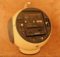 Vintage Radio Weltron Space Ball Model 2004s MW/SW1/Sw2 Stereo Cassette Recorder