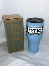 RTIC 40 oz Vacuum Insulated Tumbler | Color C. BLUE | With Spill Proof Lid | 227
