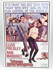 "VIVA LAS VEGAS MOVIE POSTER (Elvis Presley & Ann-Margret)~TIN SIGN (17""x12"")~NEW"