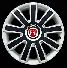 "Set of  4x14"" wheel trims to fit FIAT 500"