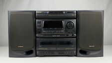 Vintage 1998 Aiwa CX-N3200U Compact Disc Stereo System w/ Duel Cassette TESTED