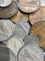 100 Gramm Restmünzen/Umlaufmünzen Irland