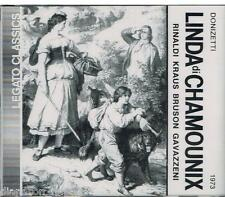 Donizetti: Linda Di Chamounix / Gavazzeni, Rinaldi, Kraus, 1973 - CD Legato