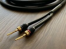 SPEAKER CABLE 12 GAUGE 6 FT. PAIR. FLEX PIN CONNECTOR HIGH QUALITY CABLE