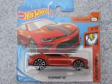 HOT WHEELS 2018 #050/365 2018 CAMARO SS orange HW MUSCLE MANIA NOUVEAU FONTE