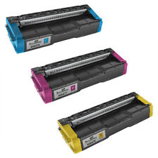 For Ricoh HY Set of 3 Toner 1ea 406476 Cyan, 406477 Magenta, 406478 Yellow