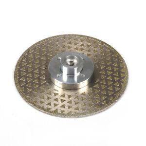 "125MM 5"" Diamond Cutting Disc Grinding Wheel M14 Flange Blade for Granite Marble"