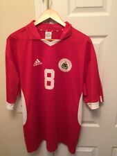 Adidas Climalite Latvia Soccer Jersey Latvijas Futbola Federaija Size Xl Worn On