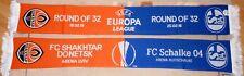 Schal + FC Schalke 04 vs FC Shakhtar Donetsk + Europa League + Sammleredition +