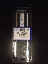 NEW Kingston 16GB PC3-14900 DDR3-1866MHz ECC Registered CL13 Memory KTD-PE318/16