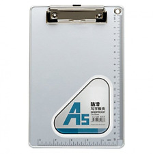 Chrisw A5 Recycled Aluminum Clipboard With Low 6 X 9 Inches Silvery