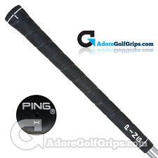 "Ping NTS Wrap Standard (White Code -0/0"") Grips - Black / White x 3"
