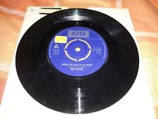 """BING CROSBY - WHERE THE BLUE OF THE NIGHT - 7"""" single - VG"""