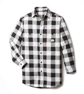 Rasco FR  PLAID Work Shirts Mens NWT