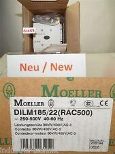 MOELLER DILM185/22(RAC500) CONTACTOR 90KW SCHÜTZ leistungsschütz